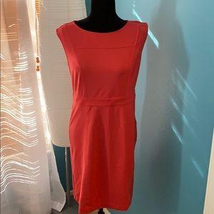 LOFT Dresses - Ann Taylor Loft Sheath Dress Coral NWT Size 4 C